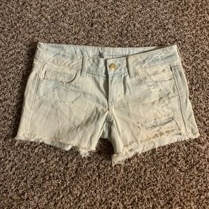 American eagle low rise shorts
